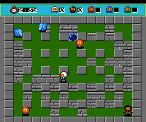 Bomberman - Users Battle (Japan) Screenshot 1