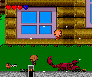 Bonk III - Bonk's Big Adventure (USA) Screenshot 1