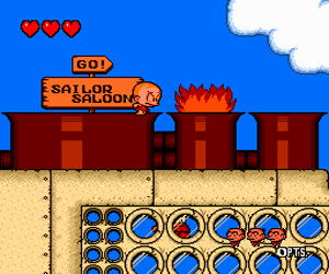 Bonk's Revenge (USA) Screenshot 1