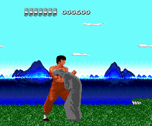 China Warrior (USA) Screenshot 1