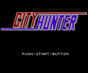 City Hunter (Japan) Screenshot