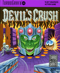 Devil's Crush - Naxat Pinball (USA) Screenshot 2