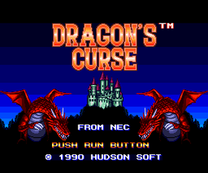 Dragon's Curse (USA) Screenshot