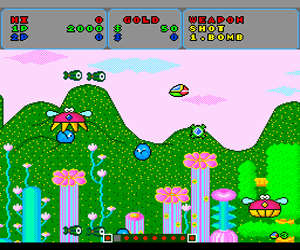 Fantasy Zone (USA) Screenshot 1
