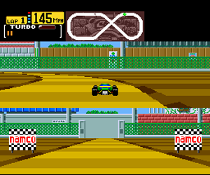 Final Lap Twin (USA) Screenshot 1