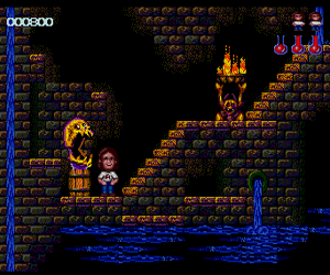 Ghost Manor (USA) Screenshot 1