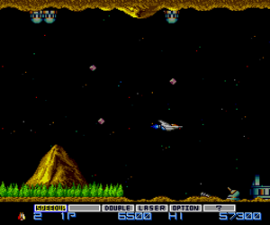 Gradius (Japan) Screenshot 1