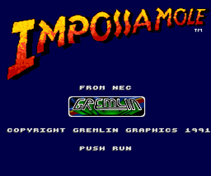 Impossamole (USA) Screenshot