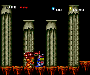 Keith Courage in Alpha Zones (USA) Screenshot 1