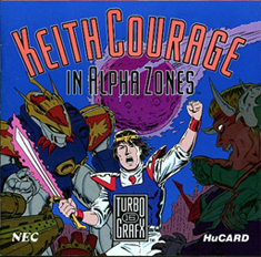 Keith Courage in Alpha Zones (USA) Screenshot 2