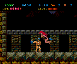 Legendary Axe II, The (USA) Screenshot 1