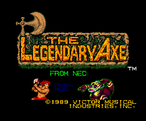 Legendary Axe, The (USA) Screenshot
