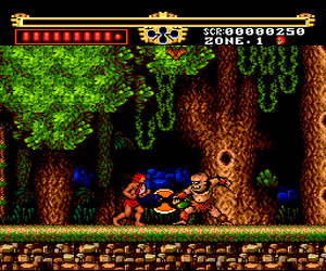 Legendary Axe, The (USA) Screenshot 1