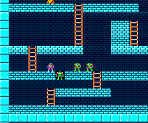 Lode Runner - Lost Labyrinth (Japan) Screenshot 1