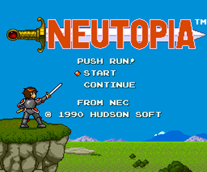 Neutopia (USA) Screenshot