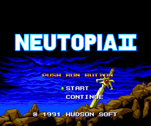 Neutopia II (Japan) Screenshot
