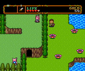 Neutopia II (Japan) Screenshot 1