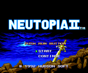 Neutopia II (USA) Screenshot