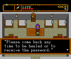 Neutopia II (USA) Screenshot 1