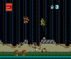 Ninja Spirit (USA) Screenshot 1