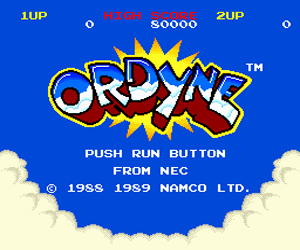 Ordyne (USA) Screenshot