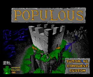 Populous (Japan) Screenshot