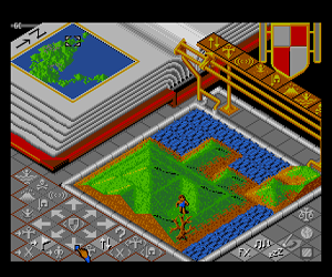 Populous (Japan) Screenshot 1