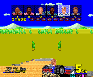 Power Drift (Japan) Screenshot 1