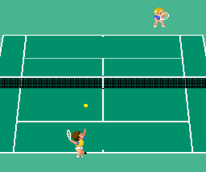 Pro Tennis World Court (Japan) Screenshot 1