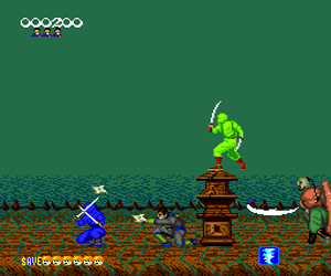 Shinobi (Japan) Screenshot 1