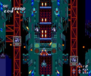Soldier Blade (Japan) Screenshot 1