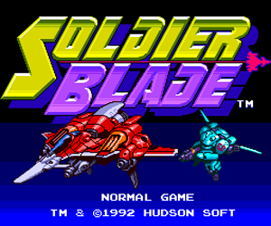 Soldier Blade (USA) Screenshot