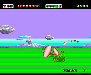 Space Harrier (USA) Screenshot 1
