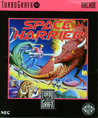 Space Harrier (USA) Screenshot 2
