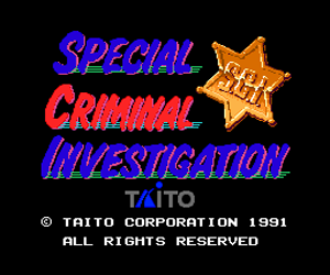 Special Criminal Investigation (Japan) Screenshot