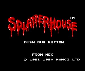 Splatterhouse (USA) Screenshot