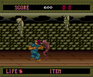 Splatterhouse (USA) Screenshot 1