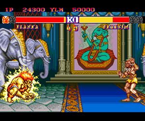 Street Fighter II' - Champion Edition (Japan) Screenshot 1