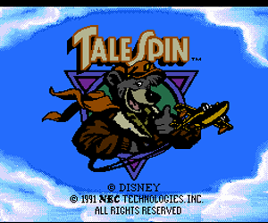 TaleSpin (USA) Screenshot