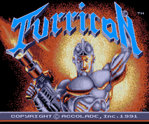 Turrican (USA) Screenshot