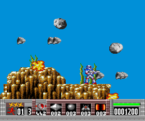 Turrican (USA) Screenshot 1