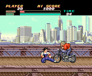 Vigilante (Japan) Screenshot 1