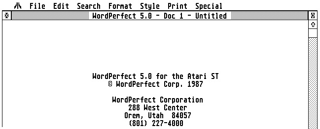 Word Perfect v5 0 (1991-03-01)(Word Perfect Corporation