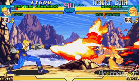 roms capcom cps2