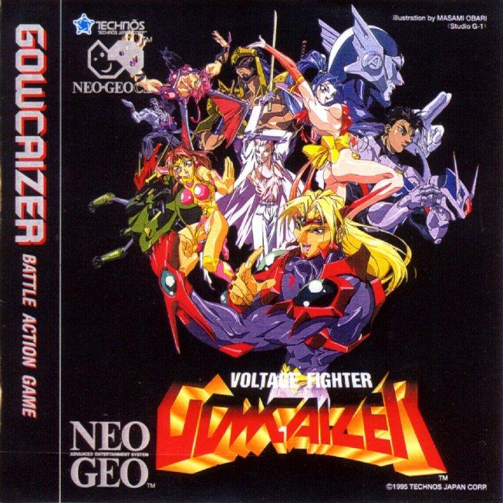Voltage Fighter Gowcaizer Choujin Gakuen Gowcaizer Rom Neogeo