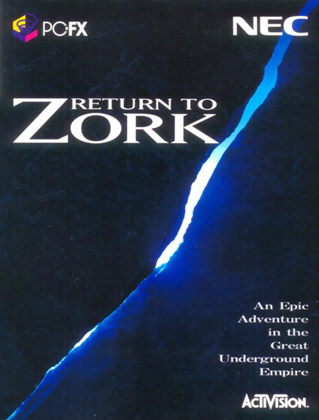 Return To Zork Iso Pcfx Isos Emuparadise