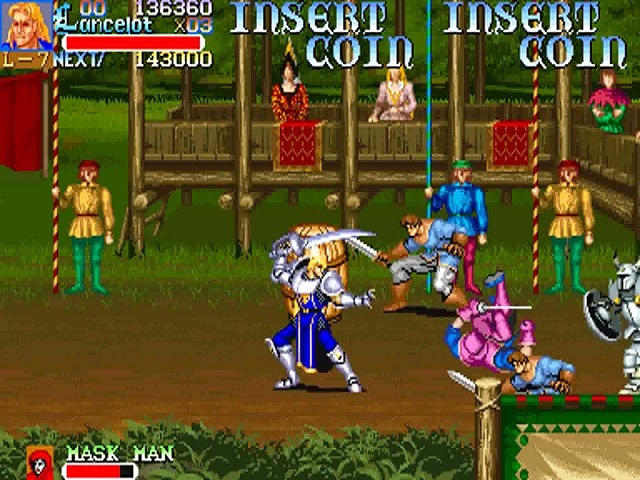 Knights Of The Round World 911127 Rom Mame Roms Emuparadise