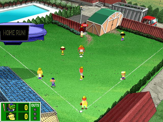 Backyard Baseball 2001 Cd Windows Game Scummvm Games Emuparadise