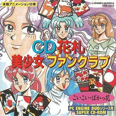 CD Hanafuda Bishoujo Fan Club (NTSC-J) ISO < PCECD ISOs