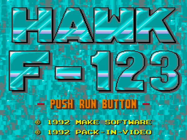 Hawk F-123 (NTSC-J) ISO < PCECD ISOs | Emuparadise
